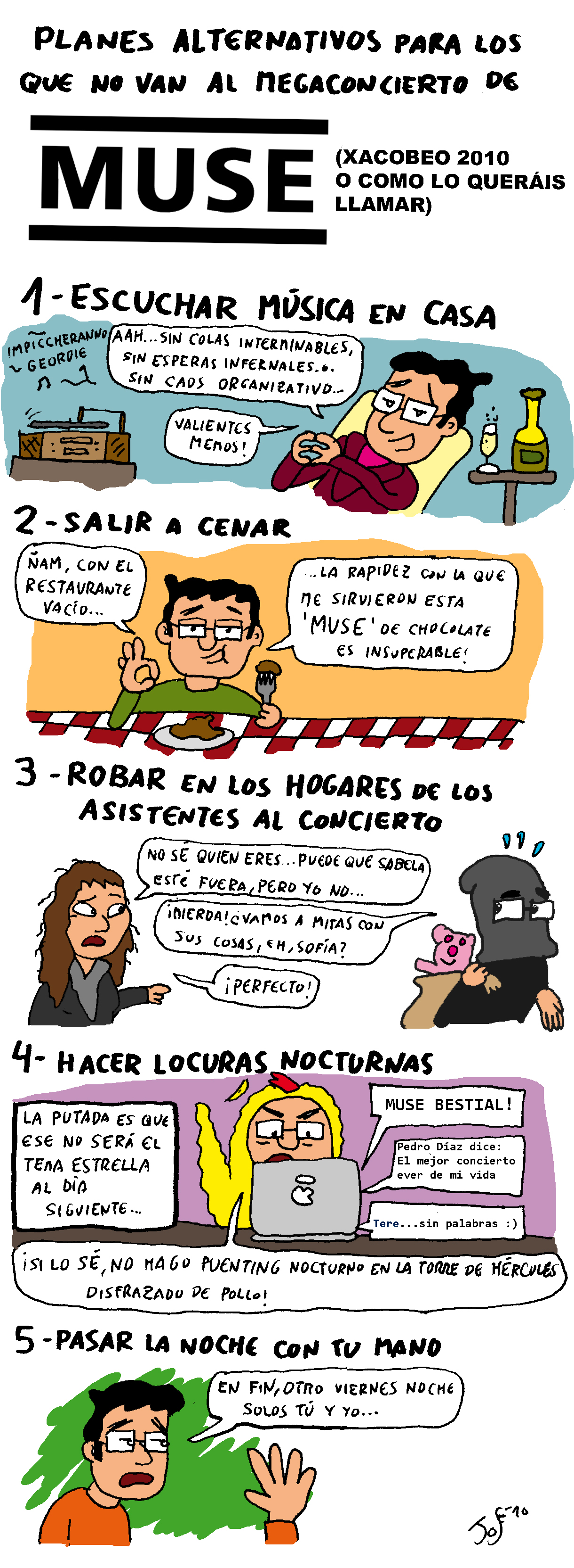 Alternativas Al Concierto De Muse. 8muse Comics. View Original ...