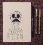 Inktober 27 - Creepy