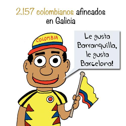 shakira-colombianos-coruña