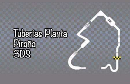 3ds-tuberias-planta-piranha
